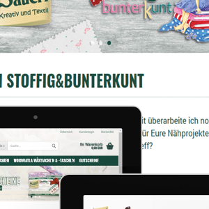 Der Online-Shop https://stoffig-shop.at